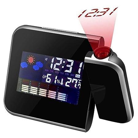Colorida Reloj Despertador con Proyección, Proyección de Techo ...