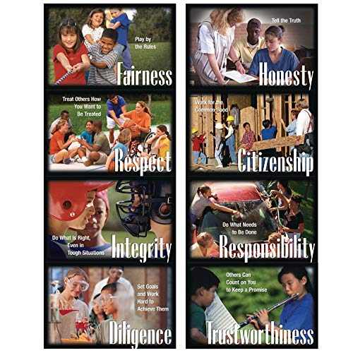 Character Education Poster Pack (Set of 8) ()