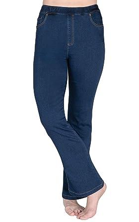da89cad302e7f PajamaJeans Women's Bootcut High-Waist Stretch Jeans, Bluestone Wash, ...