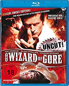 The Wizard of Gore - Uncut [Alemania] [Blu-ray]