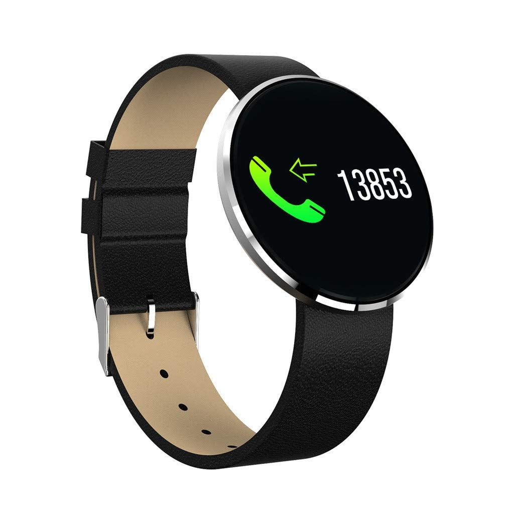 WELCOMEUNI Smart Watch Sports Fitness Activity Heart Rate Tracker Blood Pressure Watch All-Day Heart Rate
