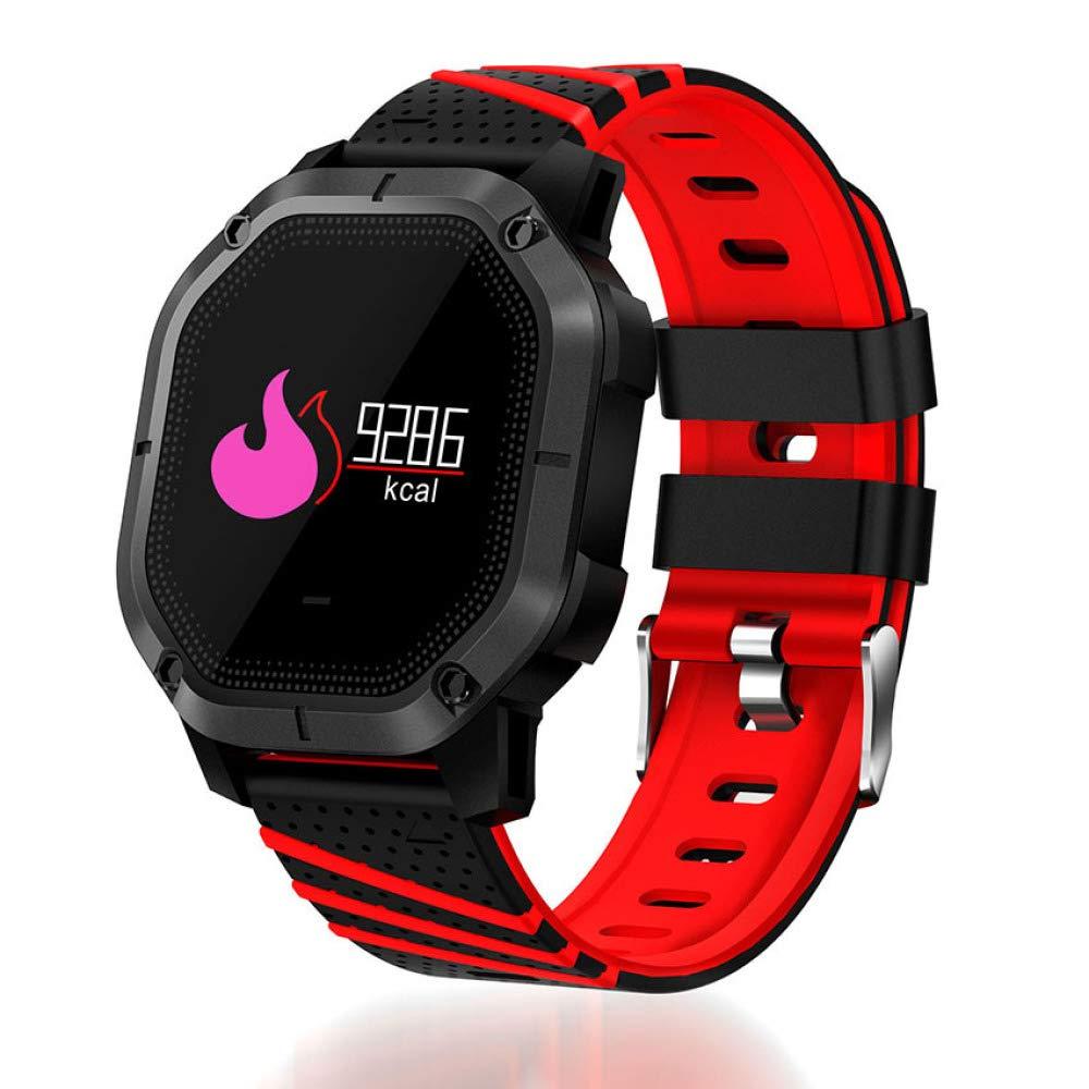 DBBKO Braccialetto Fitness Step monitoraggio della frequenza cardiaca Lunga Attesa Impermeabile IP68 Bracciale Intelligente