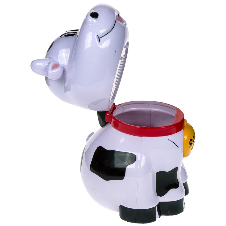 con Sonido OOTB Galletero de pl/ástico Aprox 25 cm Vaca Blanco