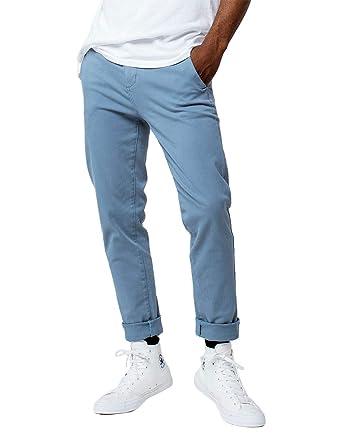7a5e15b883 Rsq London Brown Skinny Stretch Chino Pants at Amazon Men's Clothing ...