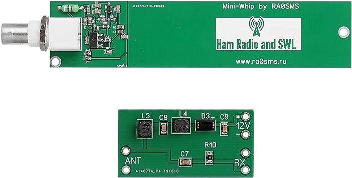 Fesjoy - Kit de antena activa RX HF VLF Mini Whip: Amazon.es ...