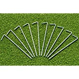"Soccer Net Pegs (Pack of 10) - 8"" Ground Fixings"
