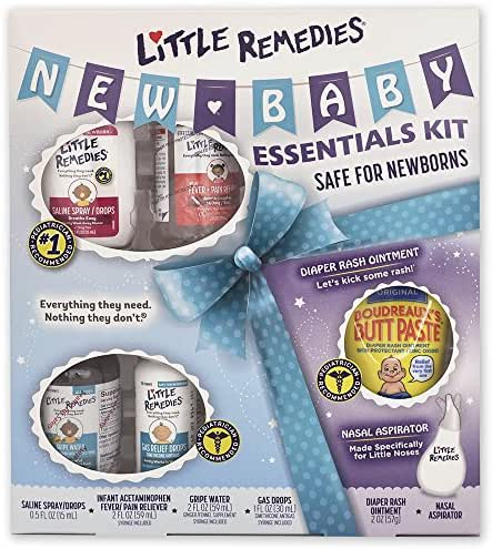 Little Remedies New Baby Essentials Kit   Perfect for Baby Shower Gift