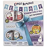 Little Remedies New Baby Essentials Kit |  New Moms Gift Set | 6 Baby Products Featuring Little Remedies & Boudreaux's Butt Paste: more info