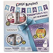 Little Remedies New Baby Essentials Kit | A Gift Set for New Moms | 6 Products Featuring Boudreaux's Butt Paste Products