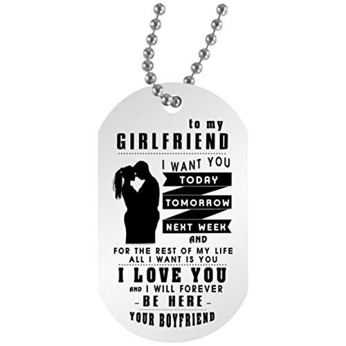 Cool Birthday Gift For My Girlfriend FAMILY TAG To Son Tag Necklace Chain