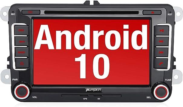 Pumpkin Android 10 Autoradio Für Vw Radio Mit Navi Elektronik