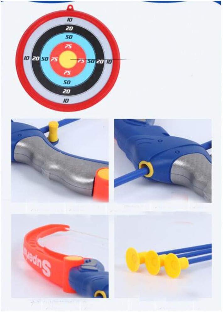 Black Temptation Toy Archery Bow and Arrow Set para ni?os con Ventosa Arrows-01