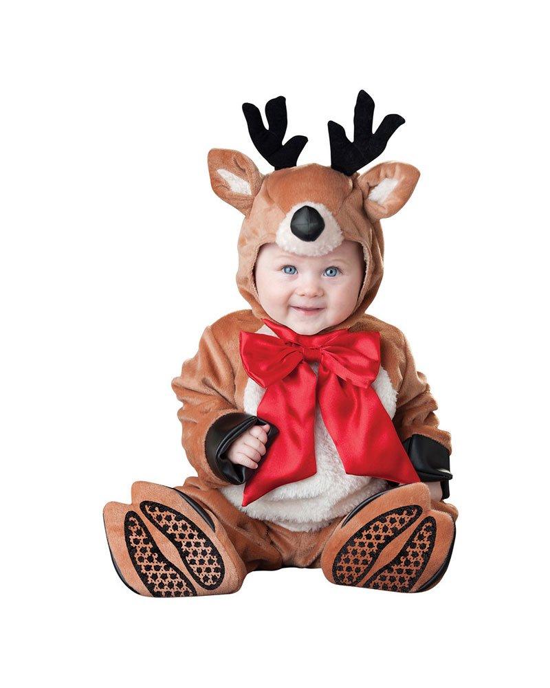 Gamery Santa Snowman Elf Christmas Costume for Kids Baby Girl Boy Infant Toddler Cosplay Reindeer 13-18 Months
