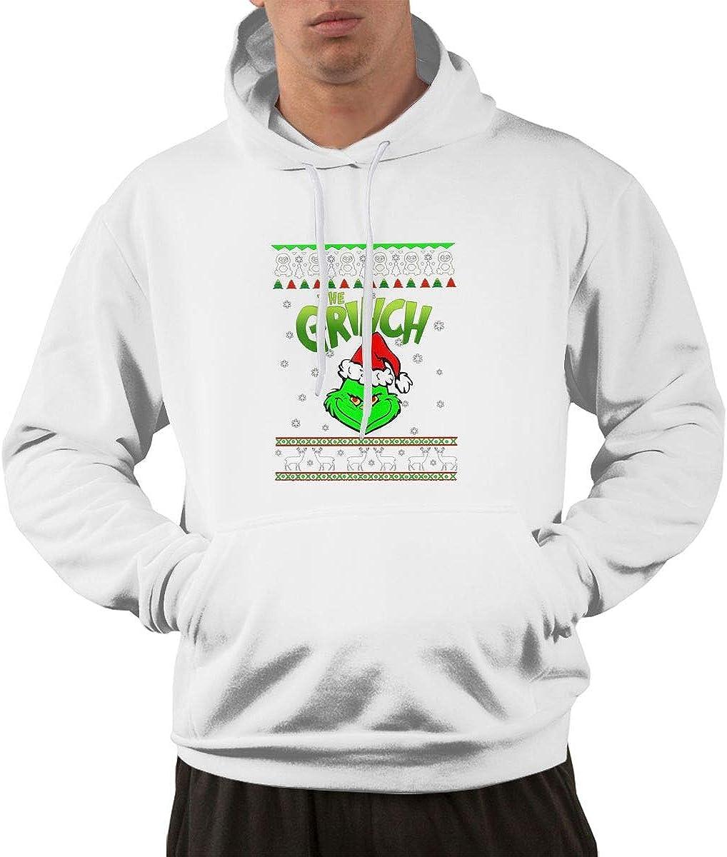 Hooded Sweater Sweatshirt for Men 14 Wokeyia Black Wild The Grinch