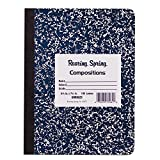 Roaring Spring Hard Cover Composition Book, 9 3/4' x 7 1/2', Unruled, 100 sheets
