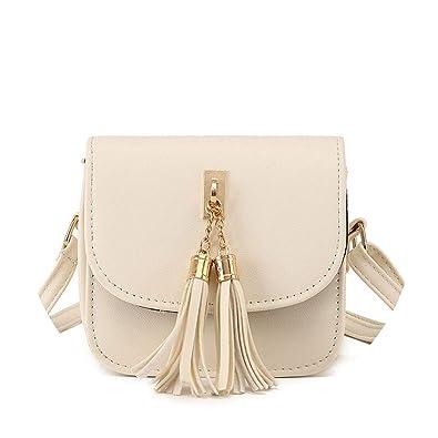 Amazon.com: Moda Pequeña Cadenas Bolso Mujer Color Caramelo ...