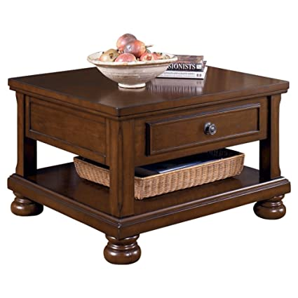 Amazoncom Ashley Furniture Signature Design Porter Lift Top