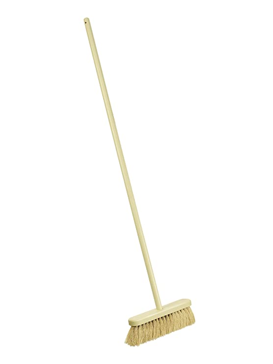 Lily and Brown 12-inch Natural Soft Coco Broom