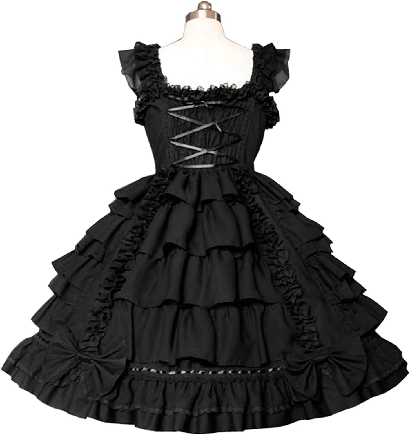 Womens Girls Princess Dress Sweet love Lolita Halloween Cosplay Party Costume
