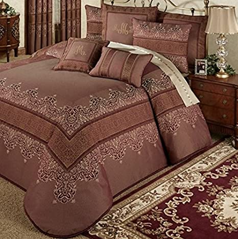 Touch of Class Eastleigh Grande Bedspread Ruby