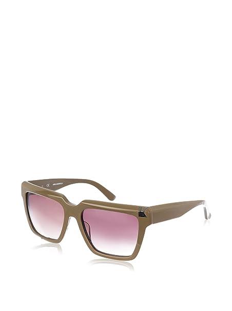 Karl Lagerfeld Gafas de Sol KL869S-058 (56 mm) Gris: Amazon ...
