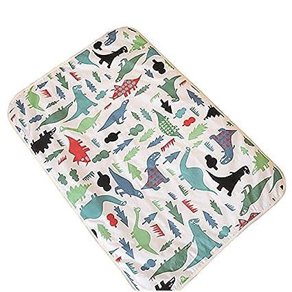 Lavable impermeable colchón hoja protector cama Empapador suave y absorbente pastillas de orina para bebés niños