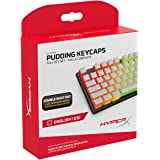 HyperX Pudding Keycaps - Double Shot PBT Keycap Set with Translucent Layer, for Mechanical Keyboards, Full 104 Key Set…