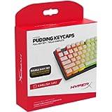 HyperX Pudding Keycaps - Double Shot PBT Keycap Set with Translucent Layer, for Mechanical Keyboards, Full 104 Key Set…