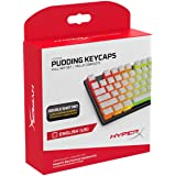 HyperX Pudding Keycaps - Double Shot PBT Keycap Set with Translucent Layer, for Mechanical Keyboards, Full 104 Key Set, OEM P