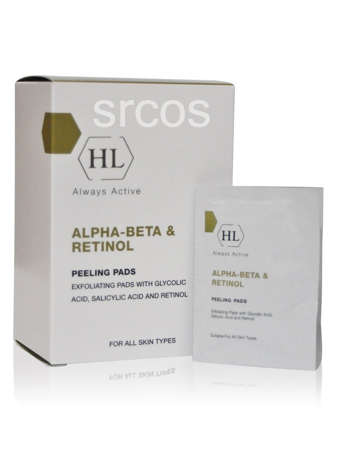 Holy Land Cosmetics Alpha-beta & Retinol Peeling Pads (24pcs)
