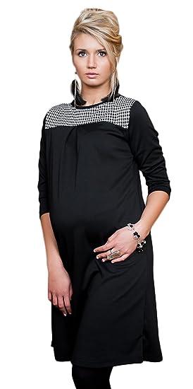 doux et léger  gamme exclusive Mija -Robe noire et blanc élégante et raguer Maternité et ...
