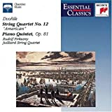 Image of Dvorak: String Quartet, No. 12: American / Piano Quintet, Op.81 (Essential Classics)