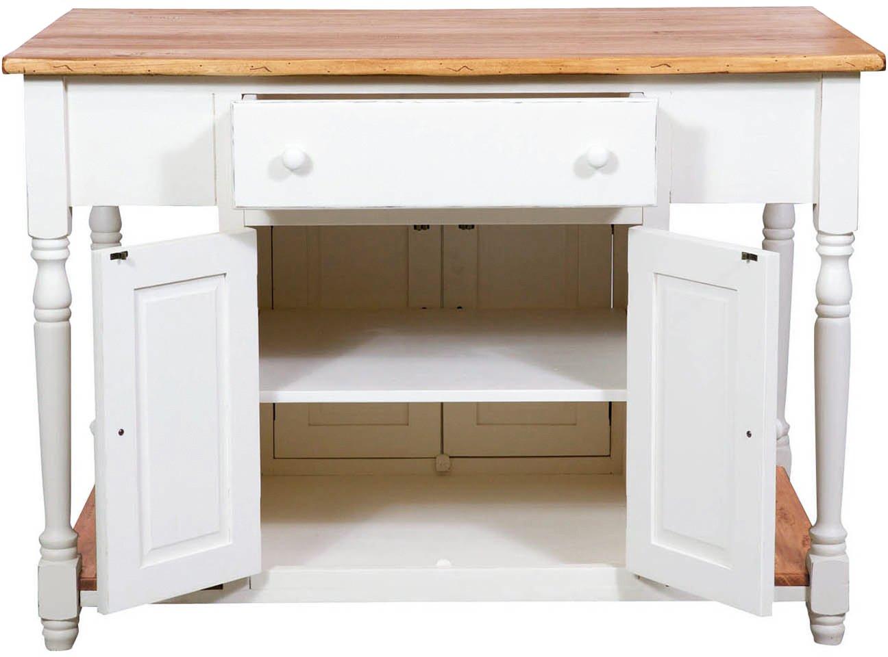 Kücheninsel 130x80x88 CM: Amazon.de: Küche & Haushalt