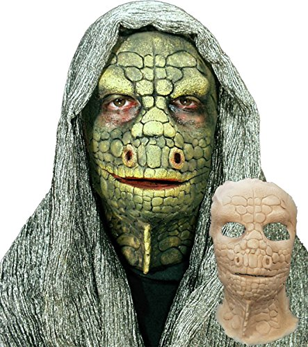 Morris Costumes Lizard Foam Prosthetics Latex Face Costume
