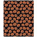 """CafePress - Halloween Pumpkin Flip Flops - Soft Fleece Throw Blanket, 50""""x60"""" Stadium Blanket"""