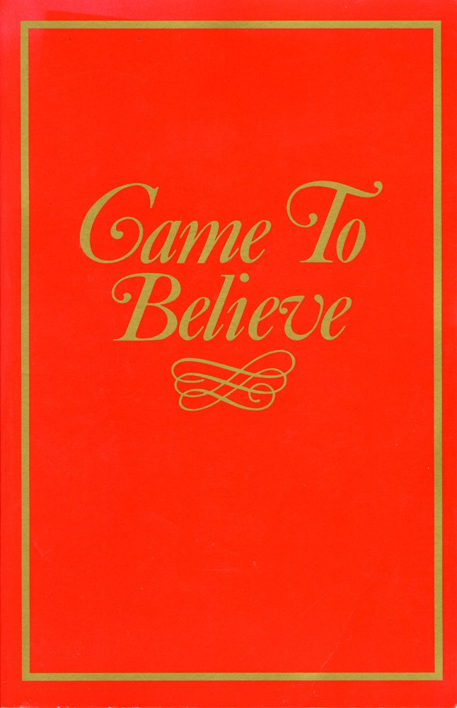 Download Came to Believe PDF