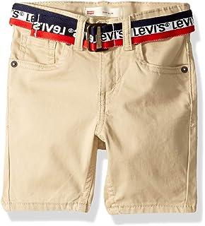 4e55f436 Amazon.com: Levi's Boys 505 Regular Fit Denim Shorts: Clothing