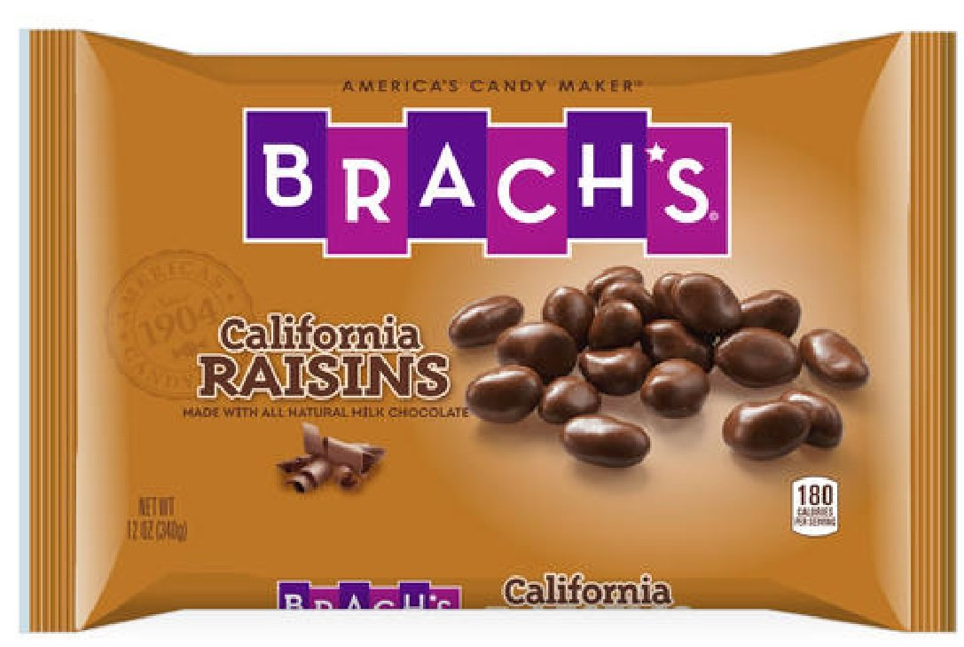 Amazon.com : Brach's Chocolate Covered Raisins (12oz) : Candy And ...