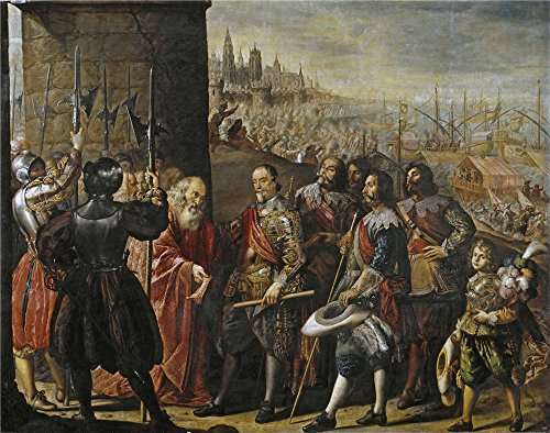 Oil Painting 'Pereda Y Salgado Antonio De The Rescue Of Genoa By The II Marquis Of Santa Cruz 1634 ' Printing On Polyster Canvas , 10 X 13 Inch / 25 X 32 Cm ,the Best Basement Gallery Art And Home Decoration And Gifts Is This Cheap But High Quality Art Decorative Art Decorative Canvas Prints