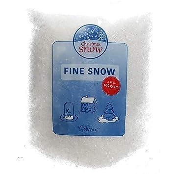 Schnee Kunstschnee Pulverschnee Dekoschnee Basteln