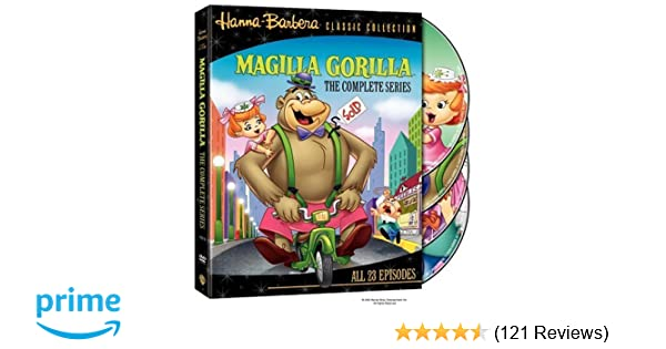Amazon com: Magilla Gorilla - The Complete Series: Various