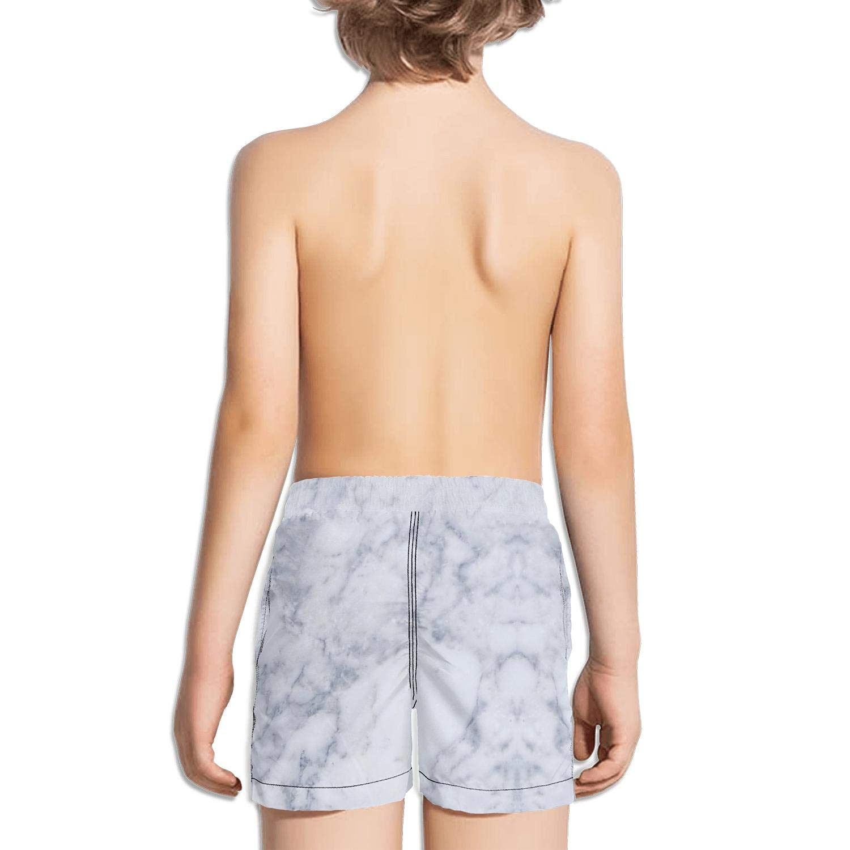 Ouxioaz Boys Swim Trunk Blurry Marble Beach Board Shorts