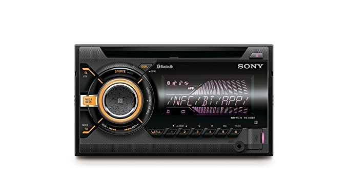 Sony WX-900BT 2 DIN CD Autoradio für Radio/MP3: Amazon.de: Elektronik