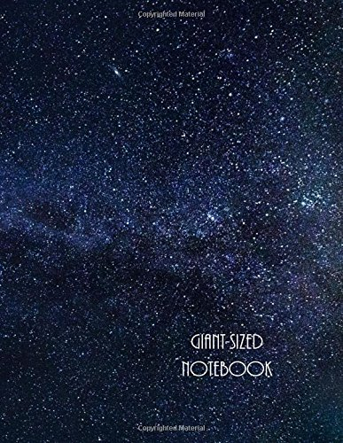 Giant-Sized Notebook: Giant-Sized Notebook/Journal with 500 Lined & Numbered Pages: The Milky Way Galaxy Cover Design Composition Notebook (8.5 x 11/250 Sheets) ebook