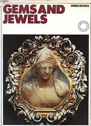 Color Treasury of Gems and Jewels Uncut Stones and Objets D'art