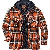 Legendary Whitetails Men's Maplewood Hooded Shirt Jacket