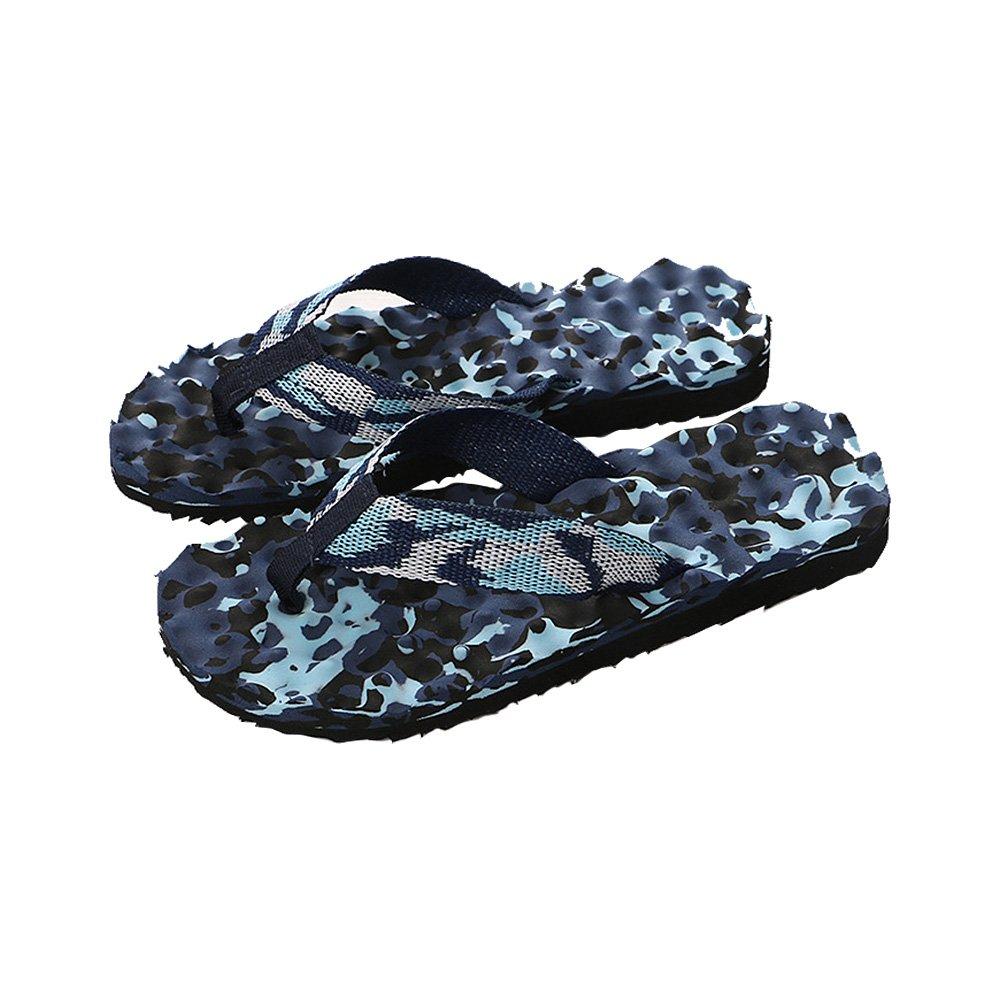 Camouflage Massage Flip Flops Sandals Indoor & Outdoor Non-slip Slippers