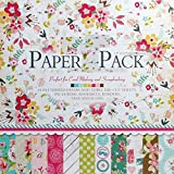 Vishal Pattern Design Printed Papers for Art & Craft, Decorative Greeting Cardmaking& Scrapbooking (24 Patterned Sheets+3 Die Cut Sheets) (VS12005)