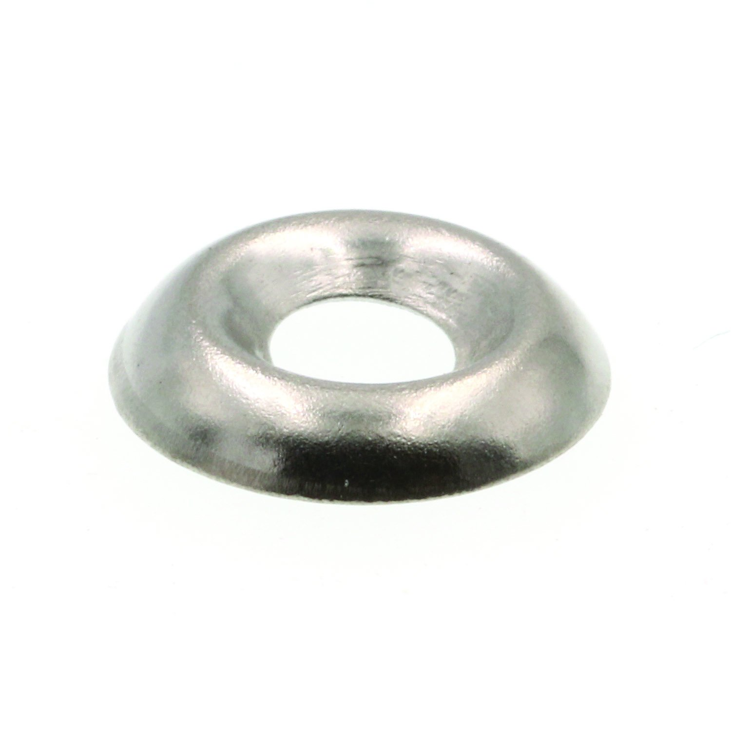 Prime-Line 9083578 Finishing Washers, Countersunk, #6, Grade 18-8 Stainless Steel, 50-Pack