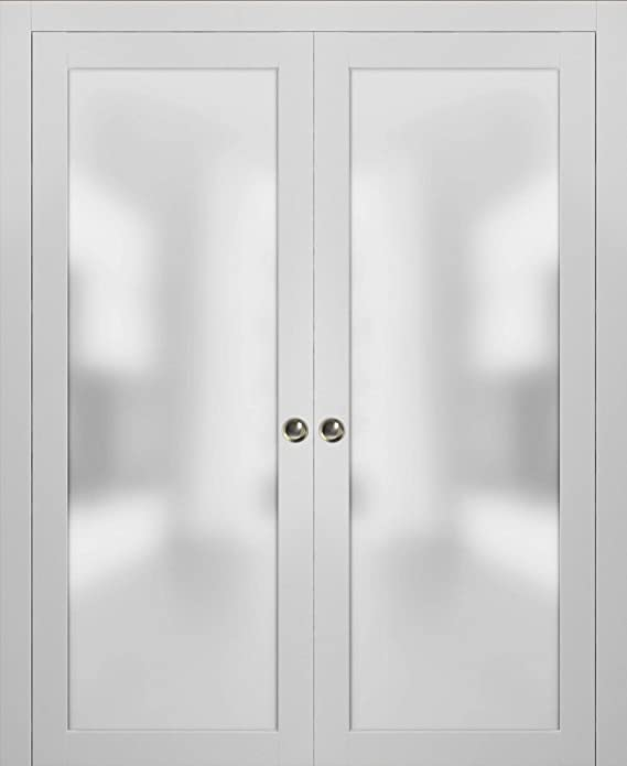 Puertas de cristal esmerilado de doble bolsillo Lite | Planum 2102 ...